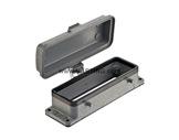 HARTING • Embase à 4 ergots couvercle métallique pour insert 24/64/108 points-cablage