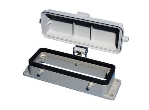 HARTING • Embase à 4 ergots couvercle plastique pour insert 24/64/108 points