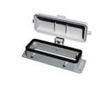 HARTING • Embase à 4 ergots couvercle plastique pour insert 24/64/108 points-cablage