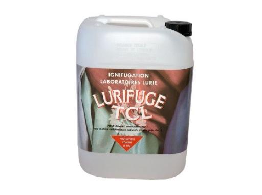 IGNIFUGATION • Solution aqueuse ECOFLAM bidon de 5 litres pour textile naturel