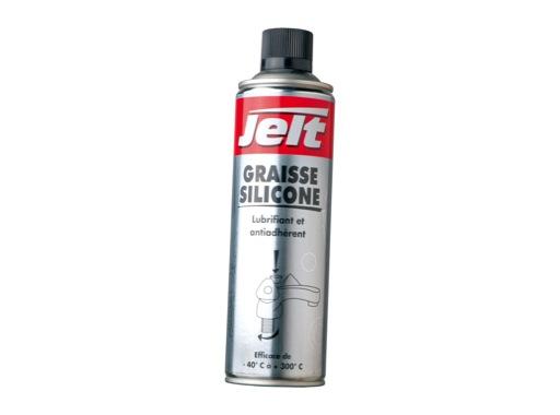 JELT • Graisse silicone -40°C à +300°C aérosol 650ml