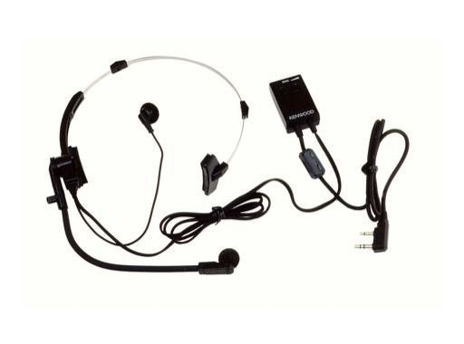 KENWOOD • Micro/Casque Vox 1 écouteur main libre pour séries TK & LJ
