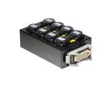 BOITIER 6 Circuits • Kilt 250 cablé 1 Harting 1601 & 8PC10/16 E1000-cablage