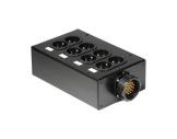 BOITIER 4 Circuits • Kilt 250 cablé 1 Socapex 41902 et 4 PC10/16 K501K-boitiers-pour-multipaires