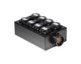 BOITIER 4 Circuits • Kilt 250 cablé 1 Socapex 41902 et 8 PC10/16 E1000-boitiers-pour-multipaires