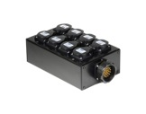 BOITIER 6 Circuits • Kilt 250 cablé 1 Socapex 41902 & 8PC10/16 E1000-cablage