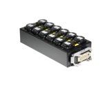 BOITIER 6 Circuits • Kilt 350 cablé 1HAI01601 & 12 E1000-boitiers-pour-multipaires