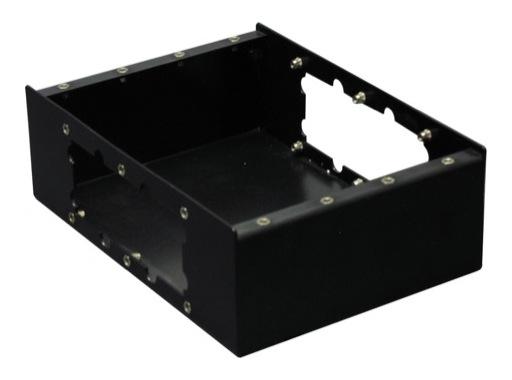 KILT • Boitier 250 x 180 x 80mm (20vis) 4 modules & 2 flancs