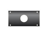KILT • Flanc 160 x 80mm usinage ø 38mm pour PG29-cablage