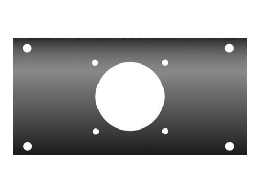 KILT • Flanc 160 x 80mm usinage pour Socapex série 40