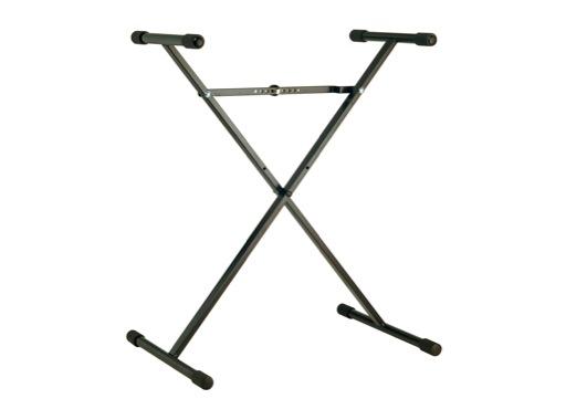 K&M • Stand clavier charge 50 kg H 400 à 900 mm L 770 mm