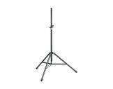K&M • Pied d'enceinte en aluminium noir 50 kg ø 35 mm H 2018 m-audio