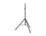 K&M • Pied d'enceinte en aluminium noir pour enceinte 40 kg ø 35 mm H 2 m-audio