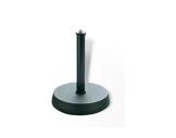 K&M • Pied de table noir embase circulaire 13 cm Hauteur 170 mm-audio
