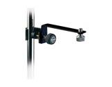 K&M • Raccord noir pour perchette ou micro à fixer sur pied-audio