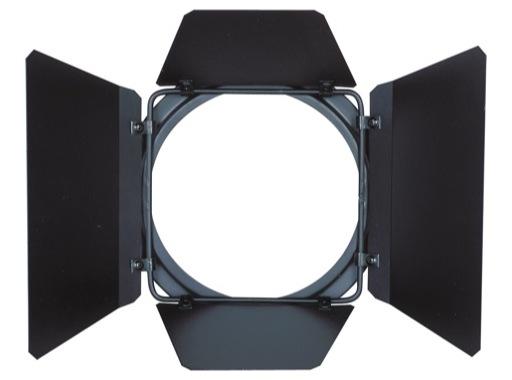 DTS • Volet 4 faces noir pour PAR30 118x118mm