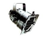 DTS • PAR56 court noir fermé classe I CE + porte filtre + câble + douille-eclairage-spectacle