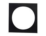 DTS • Porte filtre noir pour PAR64 L598CE/1 255x255mm