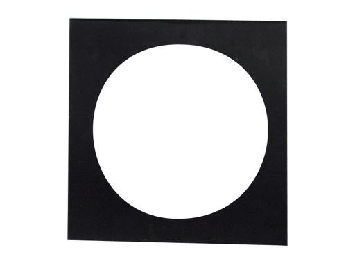 DTS • Porte filtre noir pour PAR16 70 x 68mm