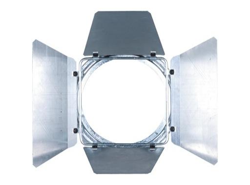 DTS • Volet 4 faces chrome pour PAR16 70 x 68mm