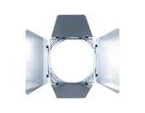 DTS • Volet 4 faces chrome pour PAR16 70 x 68mm-eclairage-spectacle