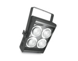 DTS • Blinder noir pour 4 lampes DWE 452x440x100mm-eclairage-spectacle
