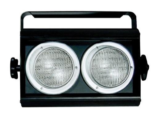 Blinder DTS noir pour 2 lampes DWE 400x240x120mm