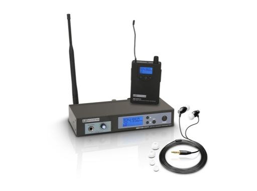 LDS • Système Ear Monitor MEI100 Set complet