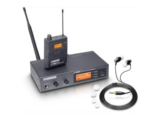 LDS • Système Ear Monitor MEI1000 Set complet