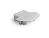 ESL • Embout plein pour profilé gamme Micro K-accessoires-de-profiles-led-strip