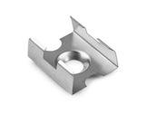 ESL • Clip fixation chrome mat pour MICRO, PDS4, PDS O-accessoires-de-profiles-led-strip