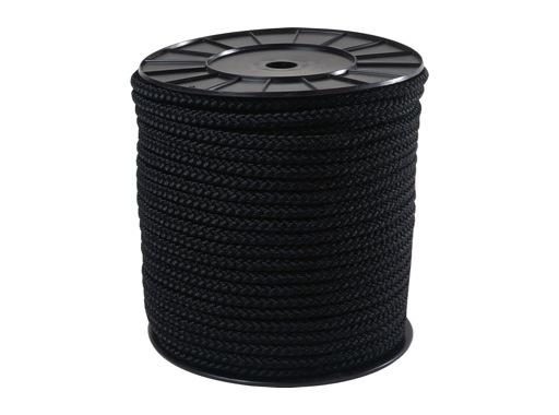 DRISSE • Pré étirée noire Ø 10 mm - bobine de 100 m