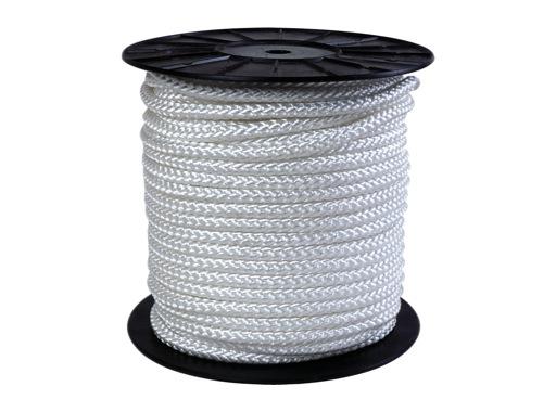 DRISSE • Blanche Ø 6 mm rupture 350 kg - bobine de 100 m
